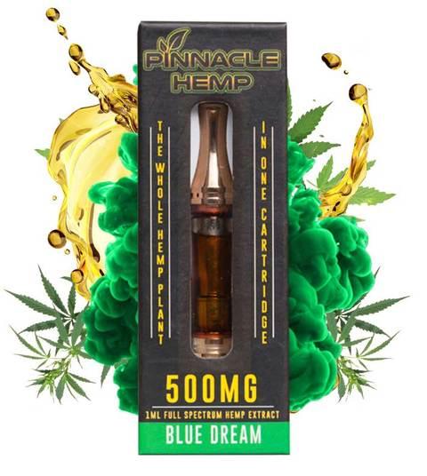 Pinnacle Hemp CBD Cartridge 500mg