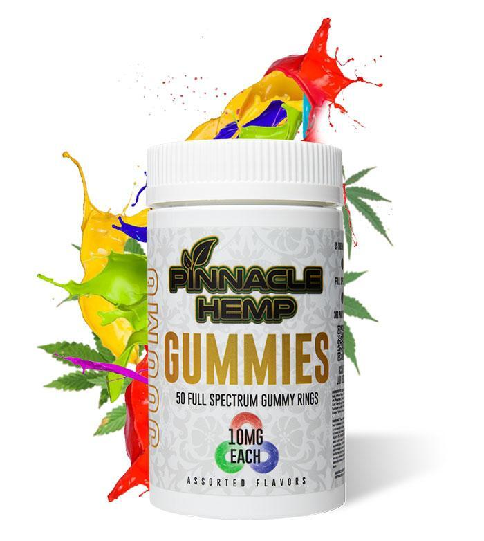 Pinnacle Hemp Full Spectrum CBD Gummies