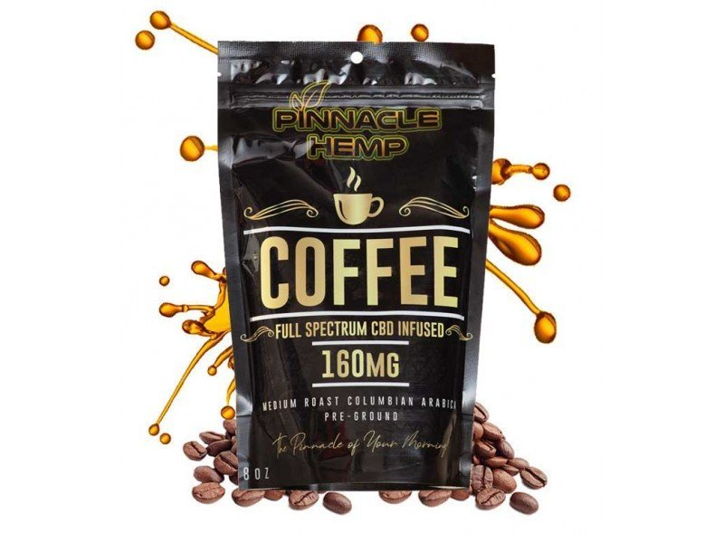 Pinnacle Hemp Full-Spectrum CBD Ground Coffee