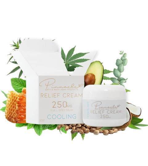 Pinnacle Hemp Relief Cream 250mg