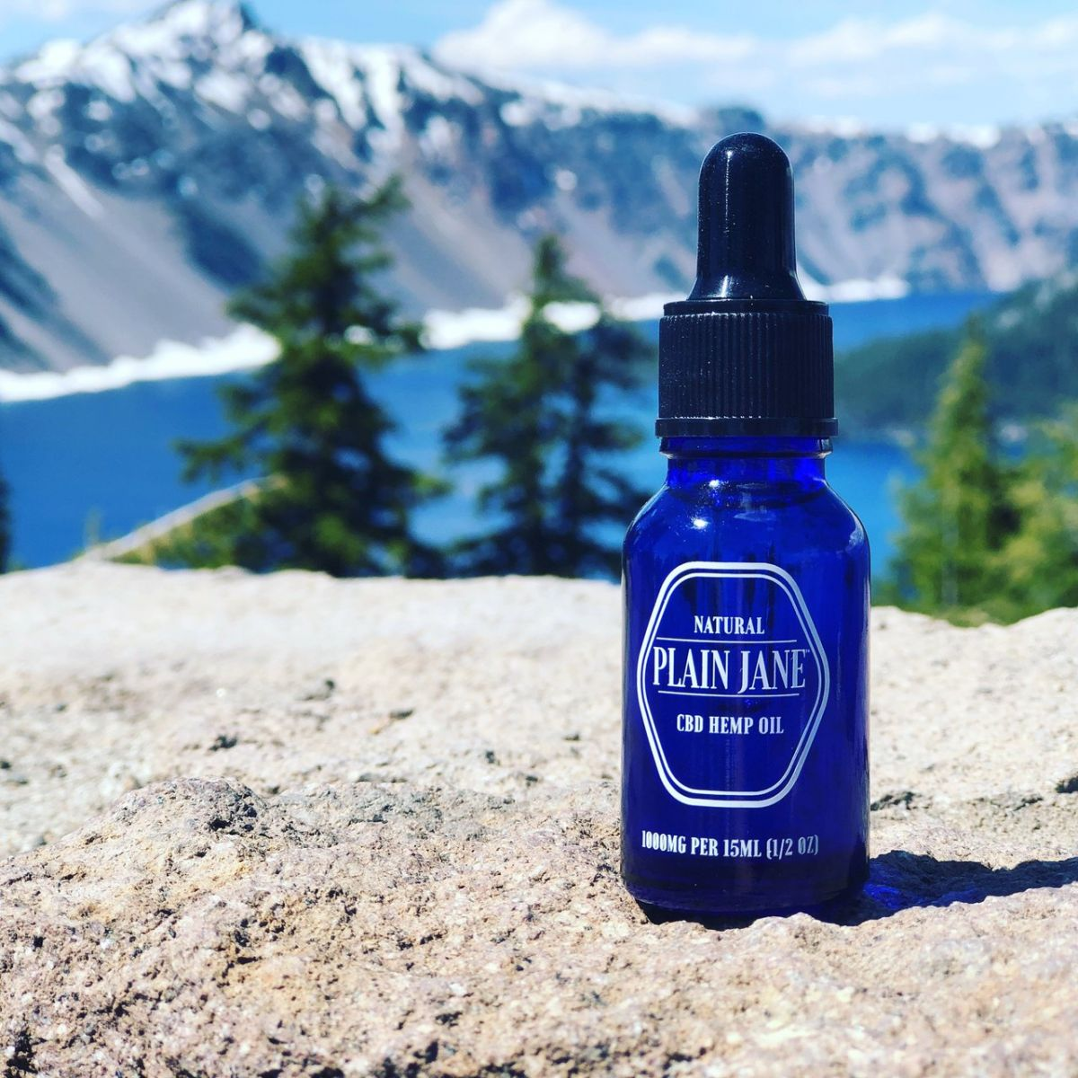 Plain Jane 1000 mg CBD Oil