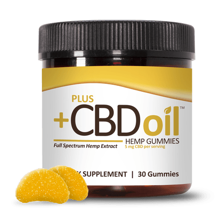 PlusCBD Oil CBD Gummies Citrus Punch
