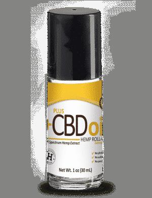 PlusCBD Oil Roll-On Gold Formula