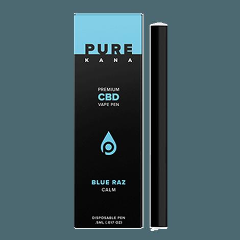 Premium Jane Blue Raz CBD Vape Pen Calm