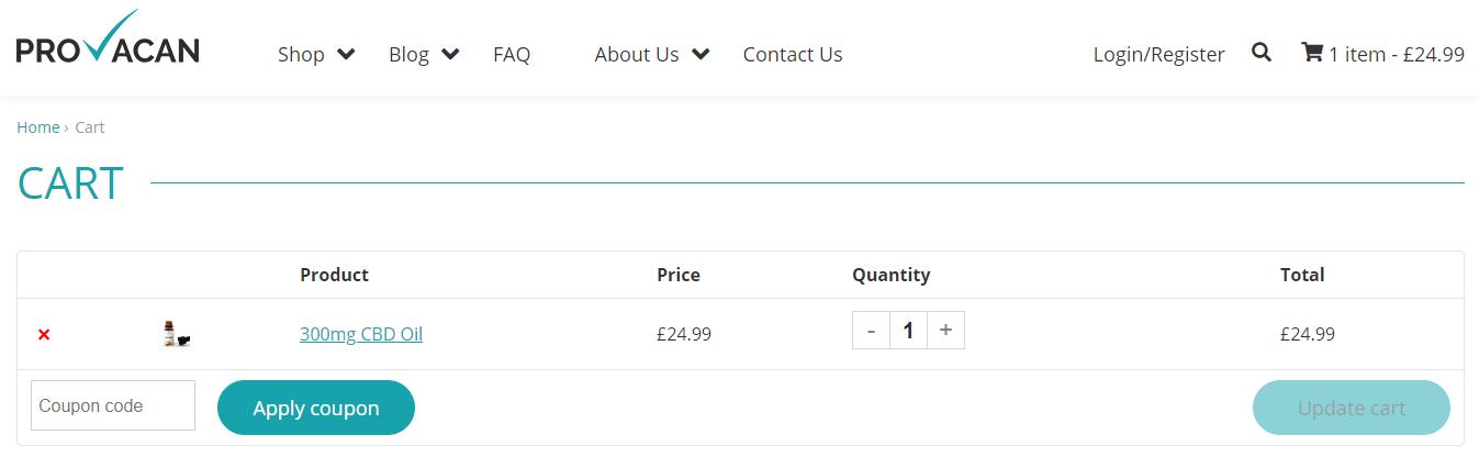 Provacan Discount Code
