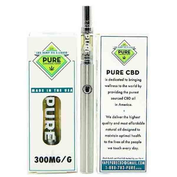 Pure CBD Vapors Mango Distilled CBD Vape Starter Kit