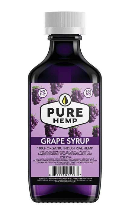 Pure Hemp Shop CBD Syrup Grape