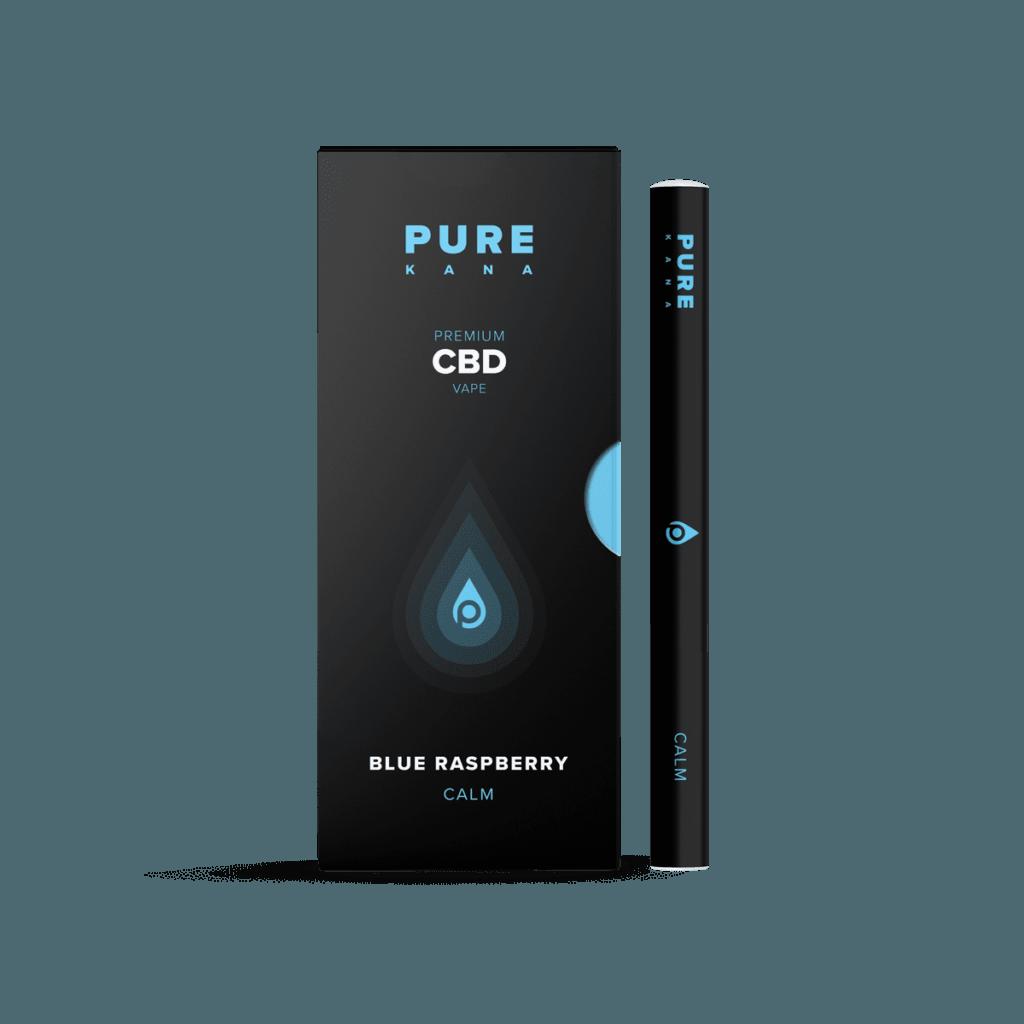 PureKana Blue Raz CBD Vape Pen