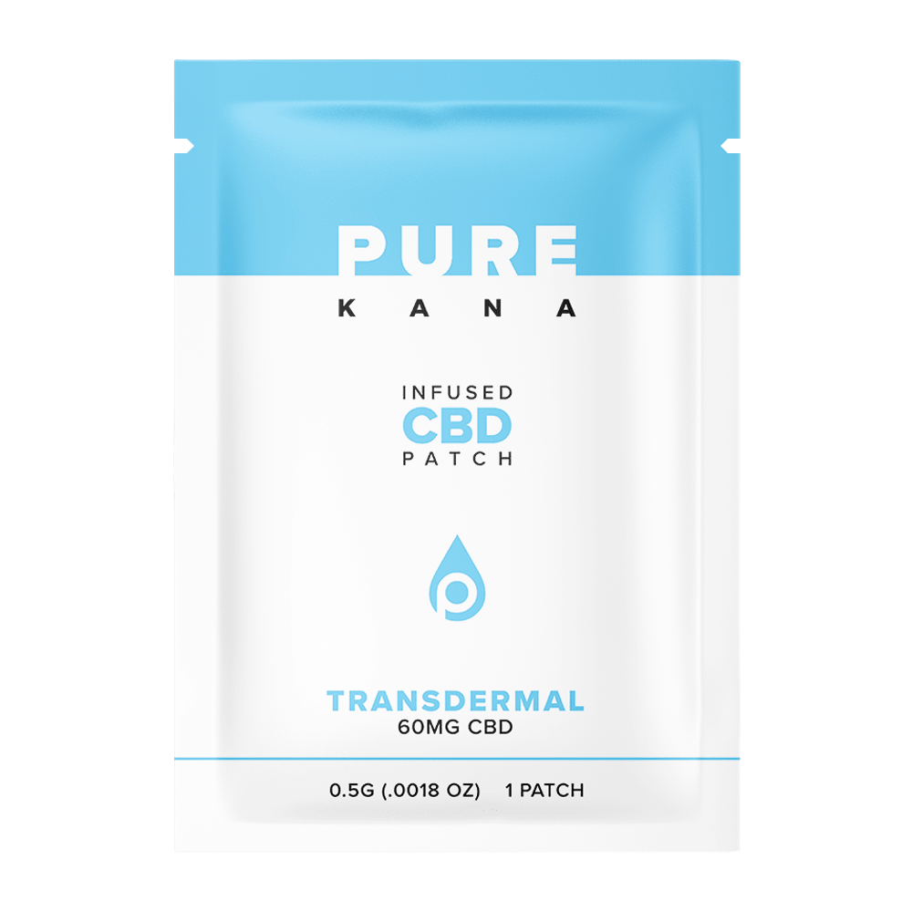 PureKana CBD Transdermal Patches 60mg