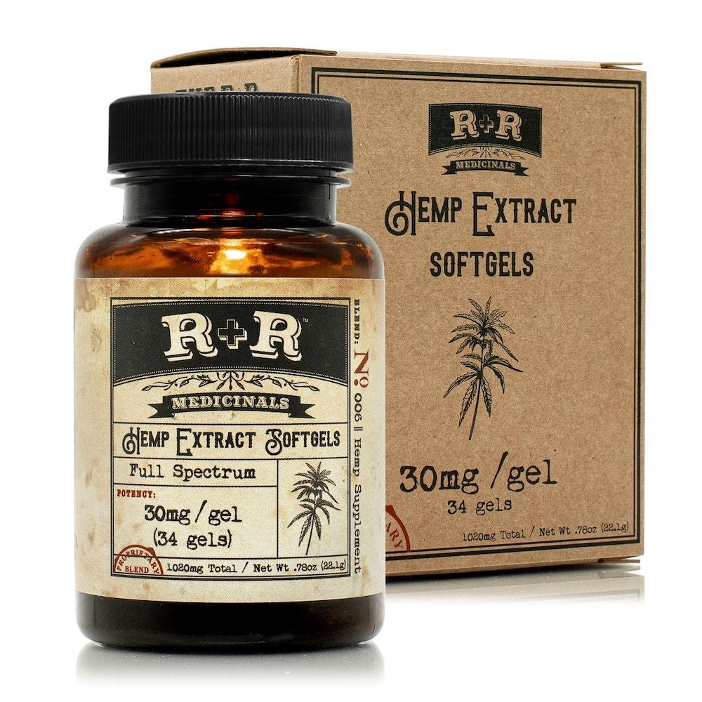 R+R Medicinals Softgels
