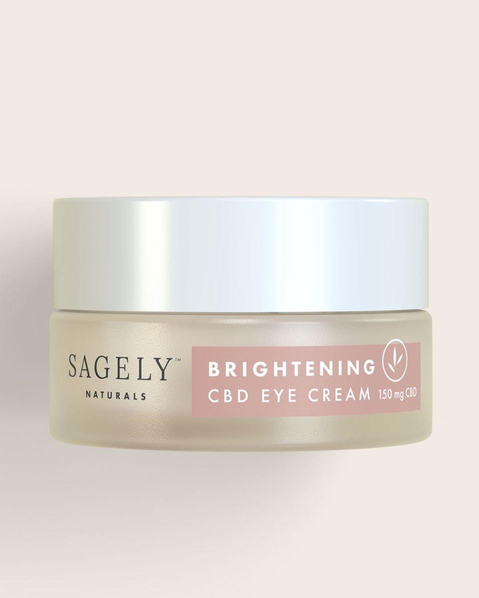 Sagely Naturals Brightening CBD Eye Cream