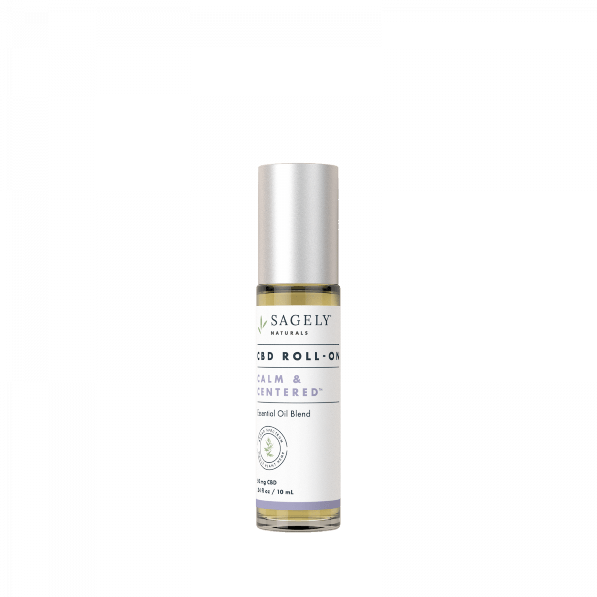 Sagely Naturals Calm & Centered CBD Roll-On