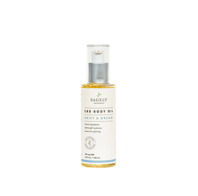 Sagely Naturals Drift & Dream CBD Body Oil