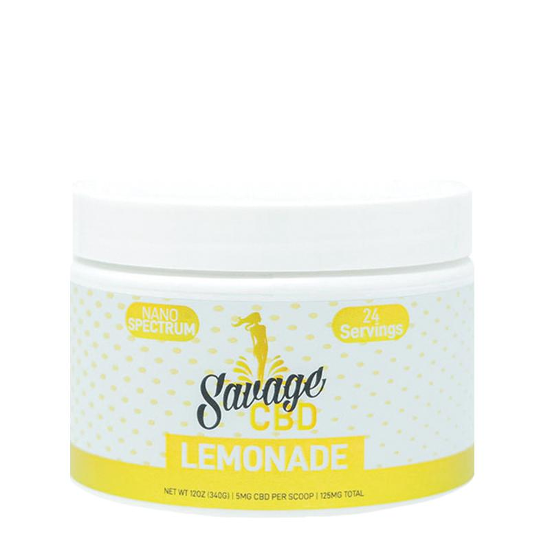 Savage CBD Mix Drink Lemonade