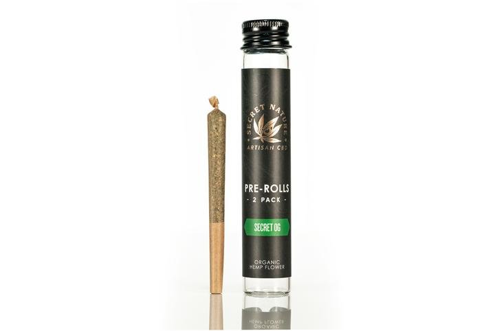 Secret Nature CBD Pre-roll
