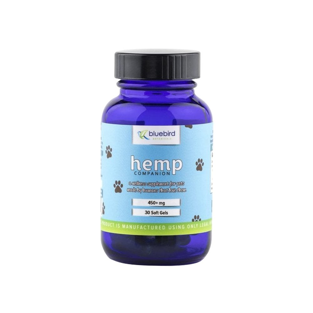 Serenity Store Bluebird Botanicals Hemp Capsules Pet Product