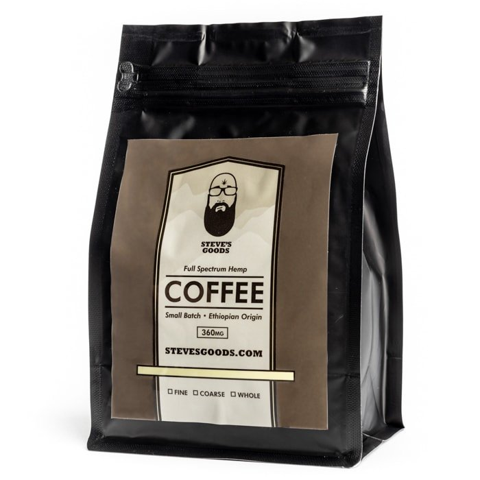 Steve's Goods CBD Edibles CBD Coffee