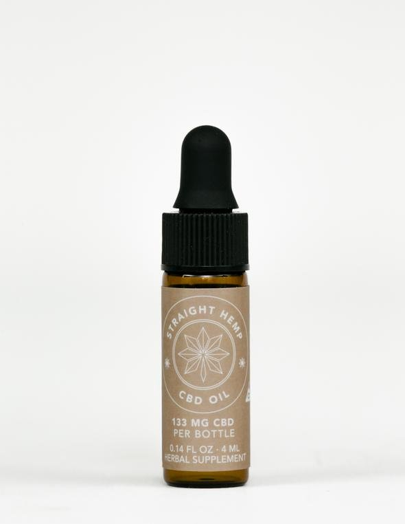 Straight Hemp Full Spectrum CBD Oil
