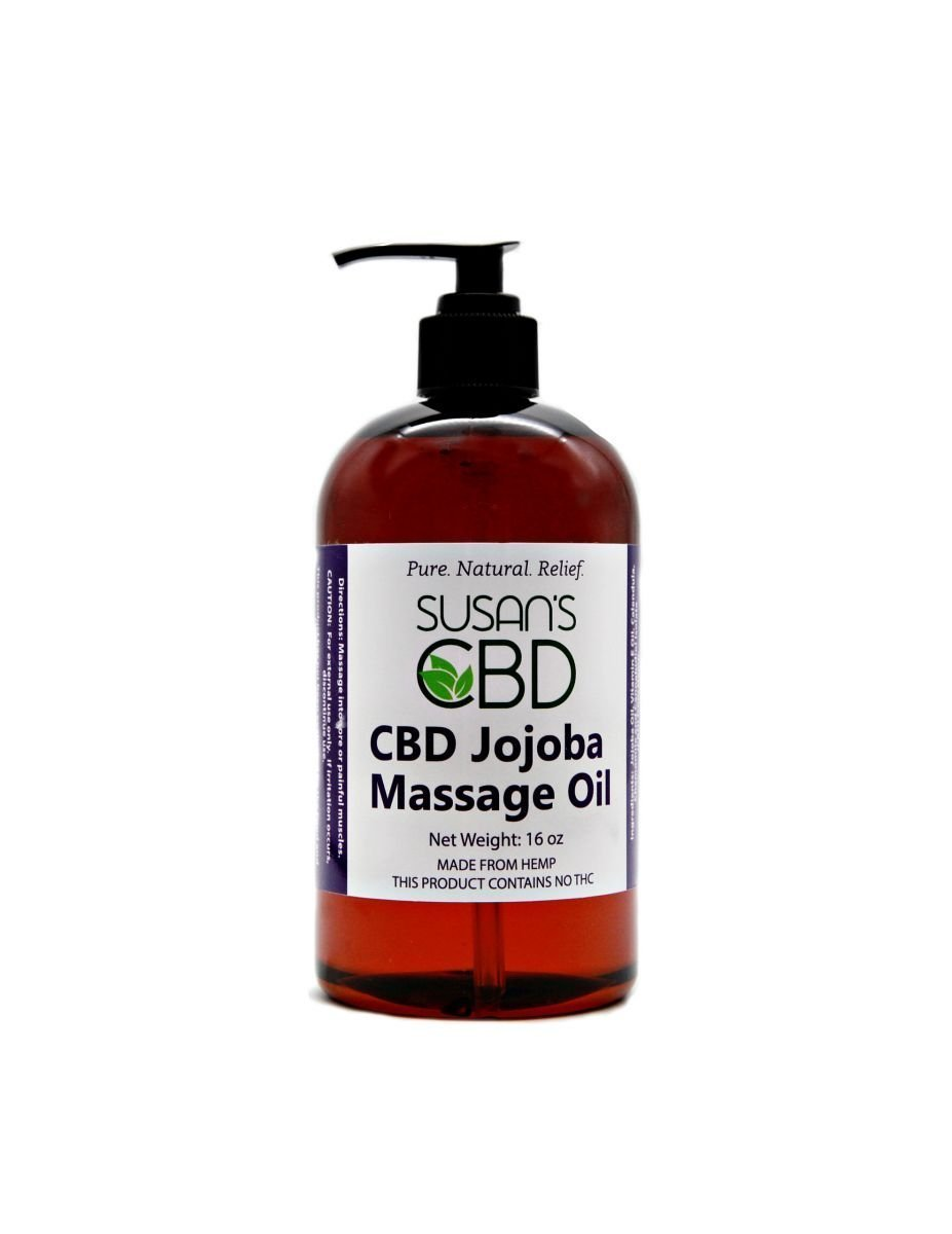 Susan's CBD Jojoba Massage Oil