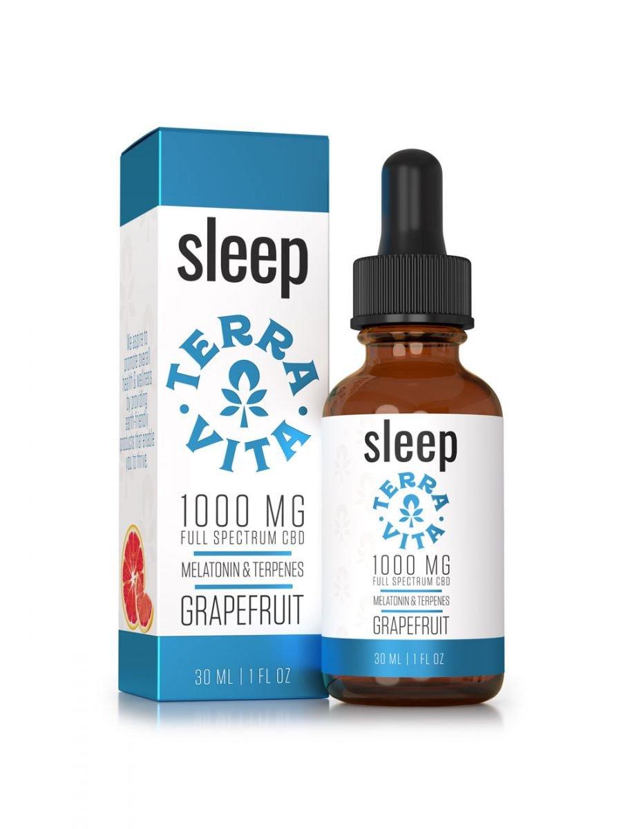TerraVita CBD Sleep CBD Oil