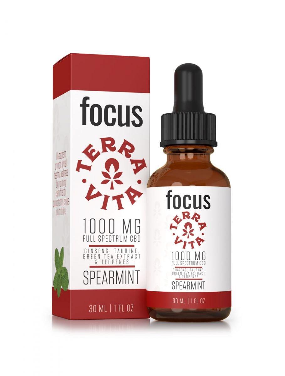 TerraVita Focus CBD oil