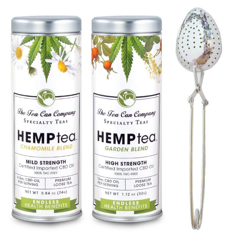 The Tea Can Company HEMPtea Combo Package
