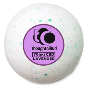 Though Cloud Lavender CBD Bath Bomb