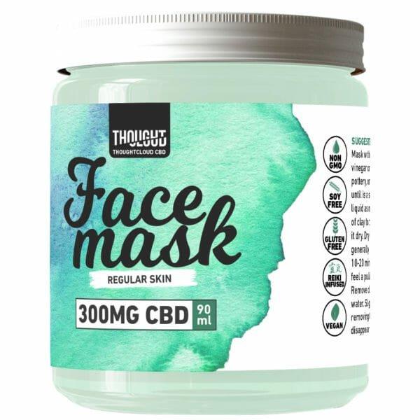 ThoughtCloud CBD Facial Mask Regular Skin