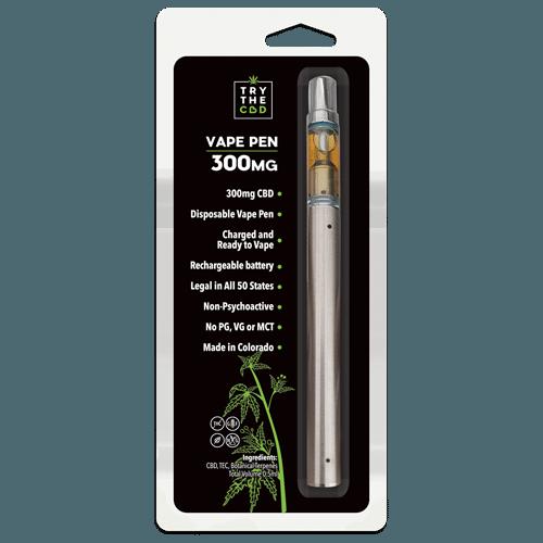Try the CBD Vape Pen