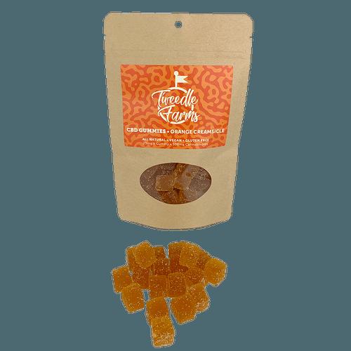 Tweedle Farms CBD Gummies Orange Creasicle 500mg