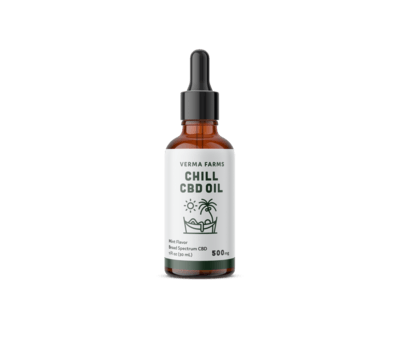 Verma Farms Chill CBD oil