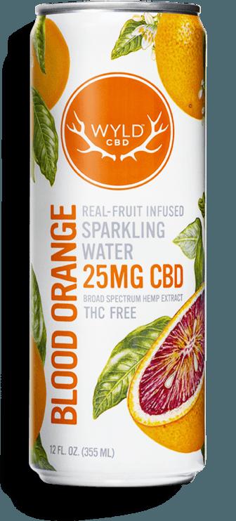 WYLD CBD Blood Orange Sparkling Water