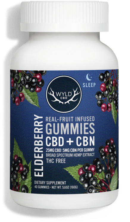 WYLD CBD Elderberry Gummies