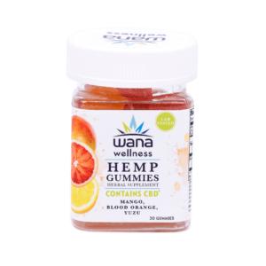 Wana Wellness Hemp Gummies Tropical