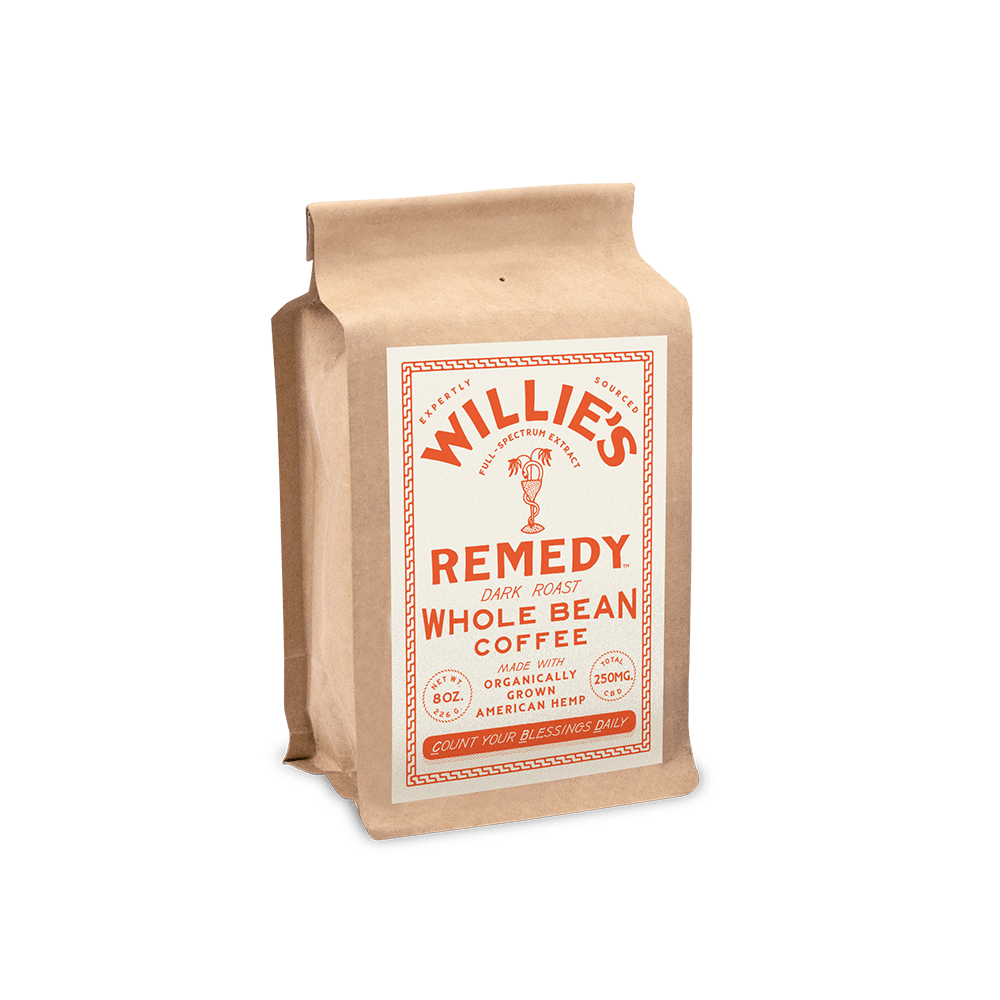 Willie's Remedy Dark Blend Whole Bean Coffee