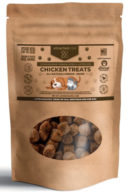 Xtracted CBD Freeze-Dried Chicken Pet Treats