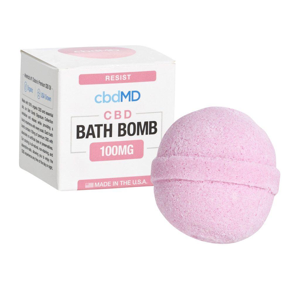 cbdMD CBD Bath Bomb Resist