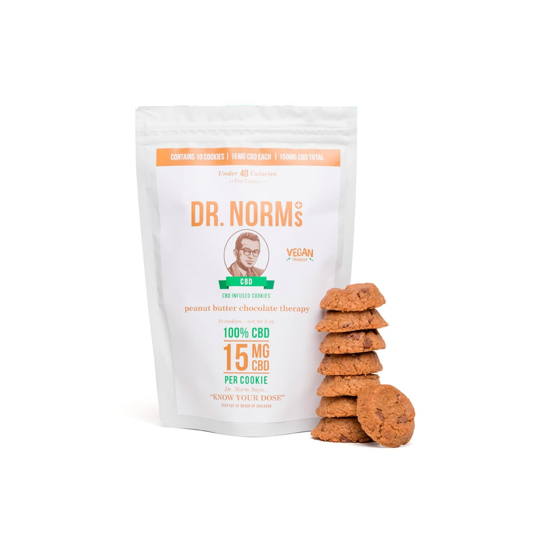 Dr Norms Peanut Butter CBD Cookies