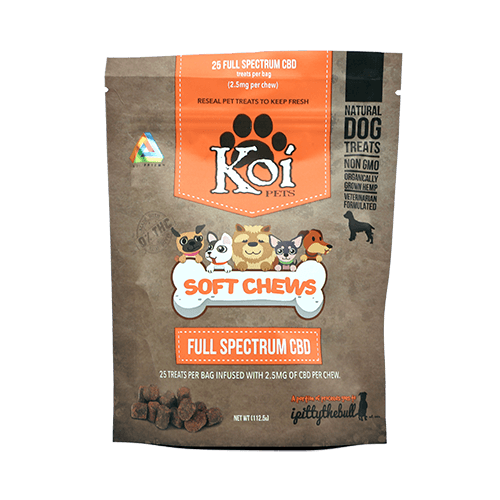 koi cbd dog treats