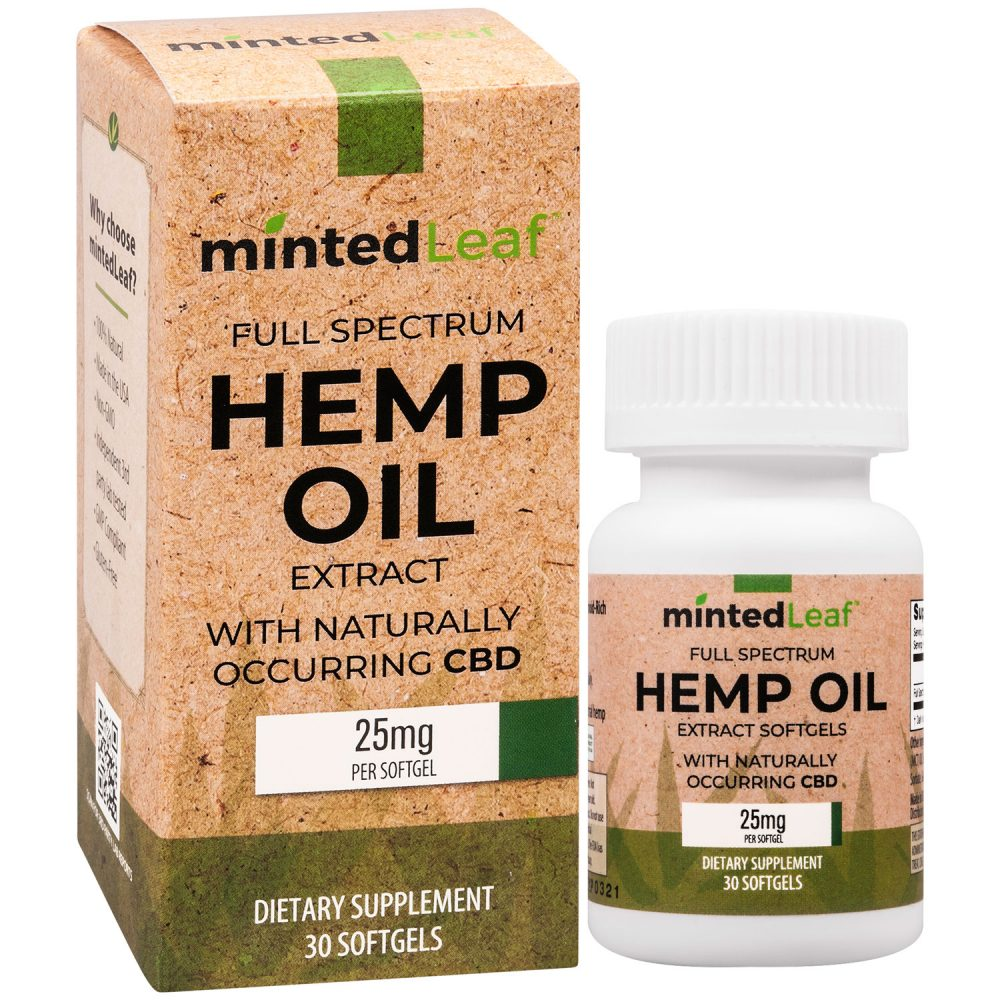 mintedLeaf Full-Spectrum Soft Gel 25mg