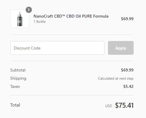 nanocraft coupon code